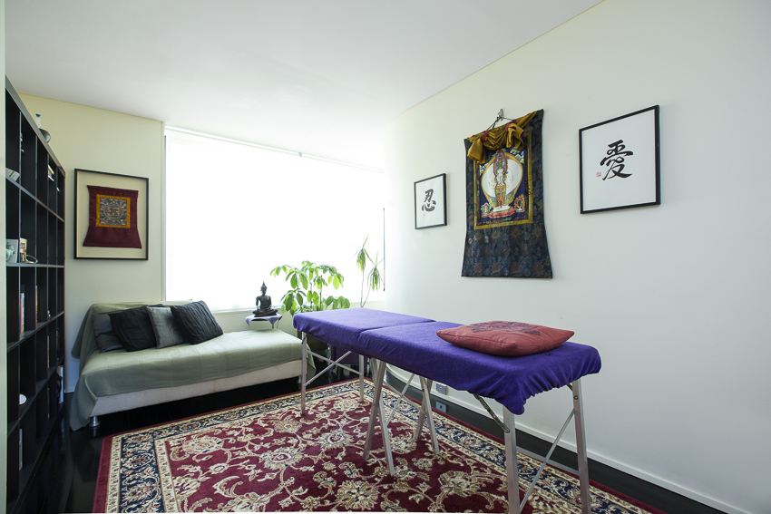 The Reiki Room in Surry Hills is a relaxing, comfortable and open space.